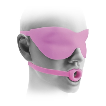 Fetish Fantasy Elite Silicone Small Open-Mouth Gag & Mask