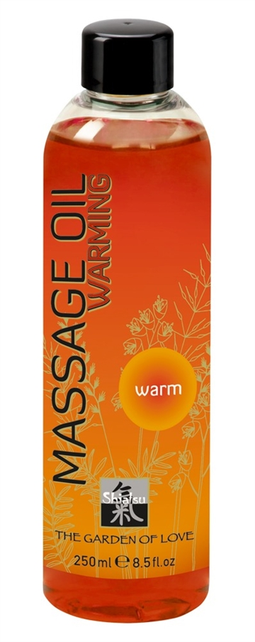 Shiatsu Varmende massageolie 250ml