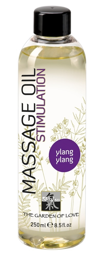 SHIATSU Massageolie med Ylang Ylang 250ml