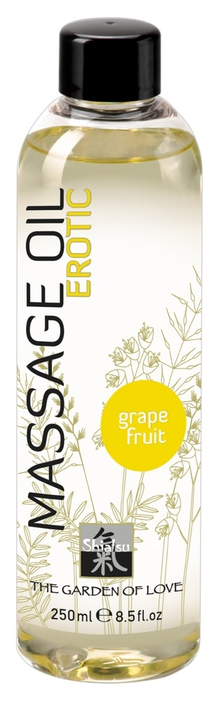 Shiatsu Massageolie med Grapefrugt 250ml