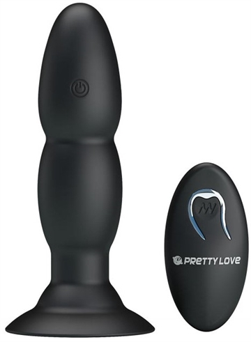 Pretty Love Beaded Pleasure Trådløs anal plug