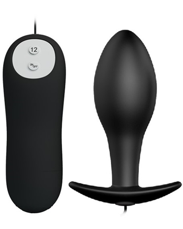 Pretty Love Anal plug single med vibration