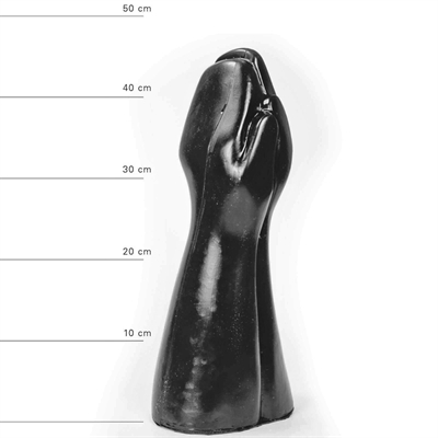 Anal All Black - 59    Ø17,5 X 39 cm.