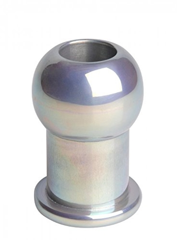 Small Tunnel Anal Plug Behandlet Aluminium