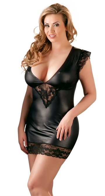 Cottelli Collection Plus Wetlook neglige