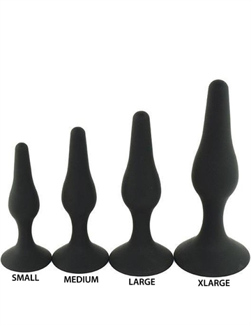 610089/610079/6100611/6100515 hotgirl.dk WORLD BEST Silicone Softy Beginner Anal Plug