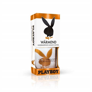 PLAYBOY Vandbasseret varmende glidecream