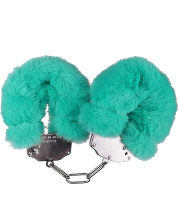 Luxery Fluffy Cuffs Turkis plys