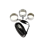 Rimba - Electro sex Penis ring 3pcs. set