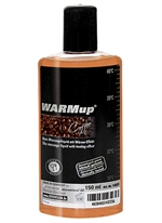 Warm-Up varmende massageolie kaffesmag 150ml