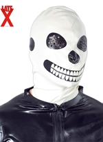 LateX skelet maske